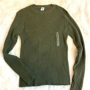 NWOT   GAP Cable Knit Sweater, M